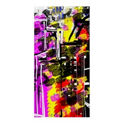 Abstract City View Shower Curtain 36  x 72  (Stall)