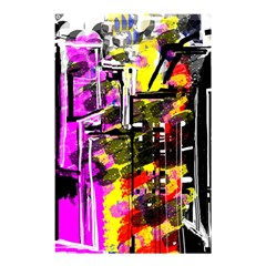 Abstract City View Shower Curtain 48  X 72  (small)