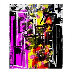 Abstract City View Shower Curtain 60  x 72  (Medium)