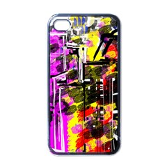 Abstract City View Apple Iphone 4 Case (black)