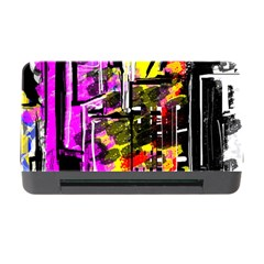 Abstract City View Memory Card Reader with CF