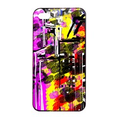 Abstract City View Apple iPhone 4/4s Seamless Case (Black)
