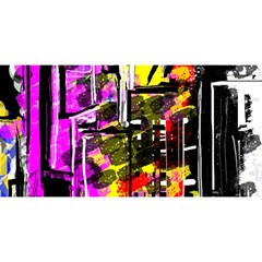 Abstract City View YOU ARE INVITED 3D Greeting Card (8x4)