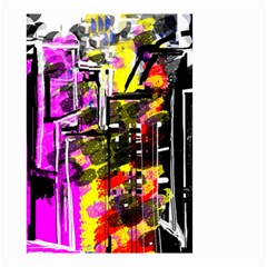 Abstract City View Small Garden Flag (Two Sides)