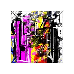 Abstract City View Acrylic Tangram Puzzle (4  x 4 )