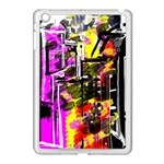 Abstract City View Apple iPad Mini Case (White) Front