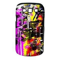 Abstract City View Samsung Galaxy S III Classic Hardshell Case (PC+Silicone)