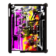 Abstract City View Apple Ipad 3/4 Case (black)