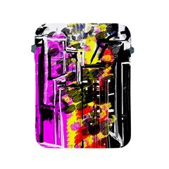 Abstract City View Apple iPad 2/3/4 Protective Soft Cases