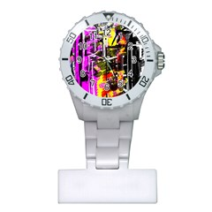 Abstract City View Nurses Watches