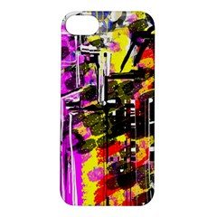 Abstract City View Apple iPhone 5S Hardshell Case