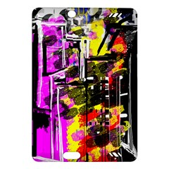 Abstract City View Kindle Fire HD (2013) Hardshell Case