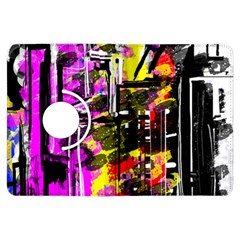 Abstract City View Kindle Fire Hdx Flip 360 Case