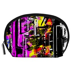 Abstract City View Accessory Pouches (large)