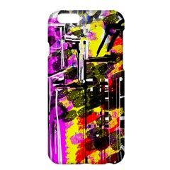 Abstract City View Apple Iphone 6/6s Plus Hardshell Case