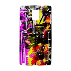 Abstract City View Samsung Galaxy Note 4 Hardshell Case