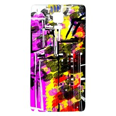 Abstract City View Galaxy Note 4 Back Case