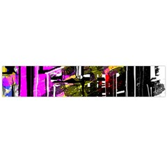 Abstract City View Flano Scarf (large)