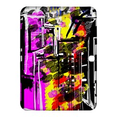 Abstract City View Samsung Galaxy Tab 4 (10.1 ) Hardshell Case