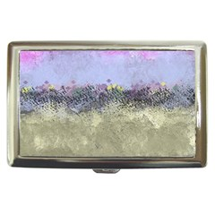 Abstract Garden In Pastel Colors Cigarette Money Cases