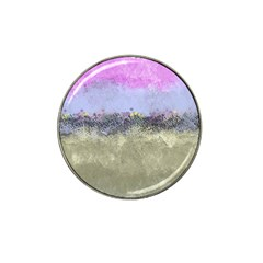 Abstract Garden in Pastel Colors Hat Clip Ball Marker (4 pack)