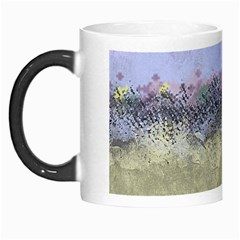Abstract Garden In Pastel Colors Morph Mugs