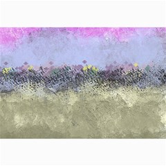 Abstract Garden In Pastel Colors Collage 12  X 18