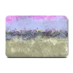 Abstract Garden In Pastel Colors Small Doormat