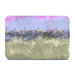 Abstract Garden in Pastel Colors Plate Mats