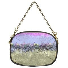 Abstract Garden In Pastel Colors Chain Purses (one Side)