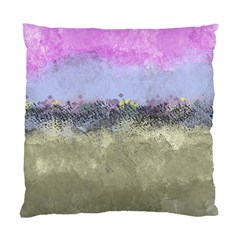 Abstract Garden In Pastel Colors Standard Cushion Case (one Side)