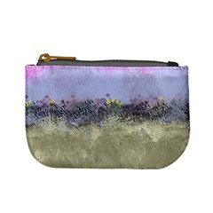 Abstract Garden in Pastel Colors Mini Coin Purses