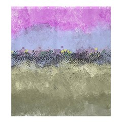 Abstract Garden in Pastel Colors Shower Curtain 66  x 72  (Large)