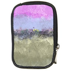 Abstract Garden in Pastel Colors Compact Camera Cases