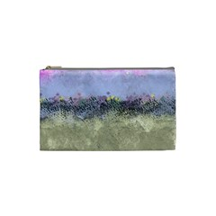 Abstract Garden In Pastel Colors Cosmetic Bag (small)