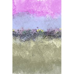 Abstract Garden in Pastel Colors 5.5  x 8.5  Notebooks