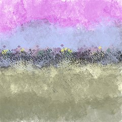 Abstract Garden In Pastel Colors Magic Photo Cubes
