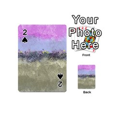 Abstract Garden In Pastel Colors Playing Cards 54 (mini)