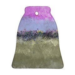 Abstract Garden in Pastel Colors Ornament (Bell)