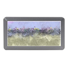 Abstract Garden in Pastel Colors Memory Card Reader (Mini)