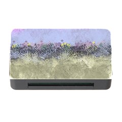 Abstract Garden In Pastel Colors Memory Card Reader With Cf