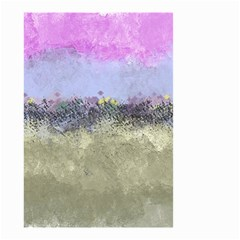 Abstract Garden in Pastel Colors Small Garden Flag (Two Sides)