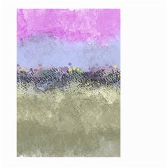 Abstract Garden in Pastel Colors Large Garden Flag (Two Sides)