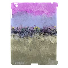 Abstract Garden In Pastel Colors Apple Ipad 3/4 Hardshell Case (compatible With Smart Cover)