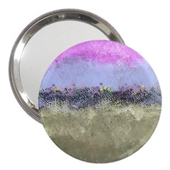 Abstract Garden in Pastel Colors 3  Handbag Mirrors