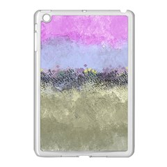 Abstract Garden In Pastel Colors Apple Ipad Mini Case (white)