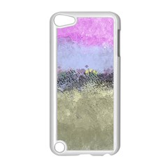 Abstract Garden In Pastel Colors Apple Ipod Touch 5 Case (white)