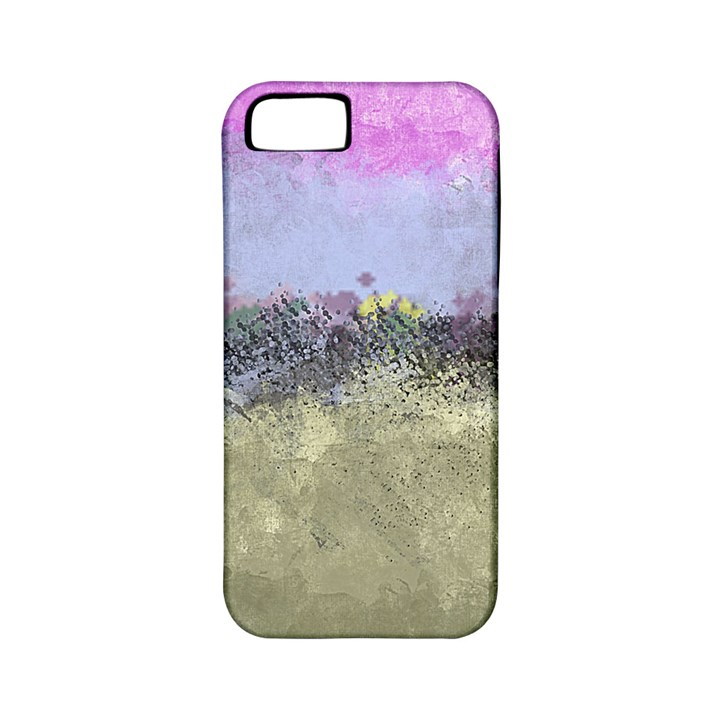 Abstract Garden in Pastel Colors Apple iPhone 5 Classic Hardshell Case (PC+Silicone)