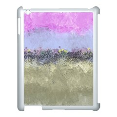Abstract Garden In Pastel Colors Apple Ipad 3/4 Case (white)