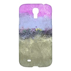 Abstract Garden In Pastel Colors Samsung Galaxy S4 I9500/i9505 Hardshell Case